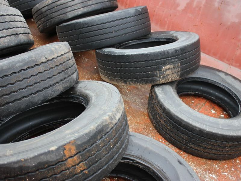 22 st Beg Däck 265/70-19,5 / Used tires - 3