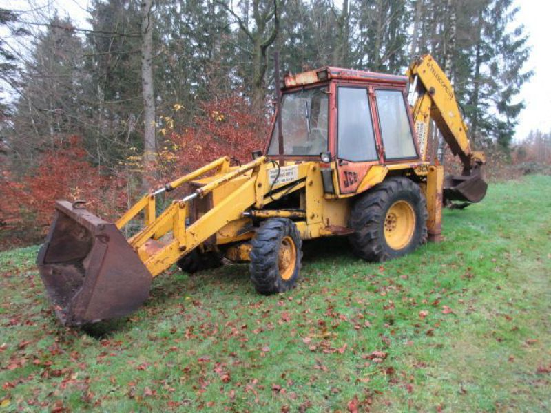 Rendegraver JCB 3 CX med 2 skovle / Backhoe with 2 buckets - 0