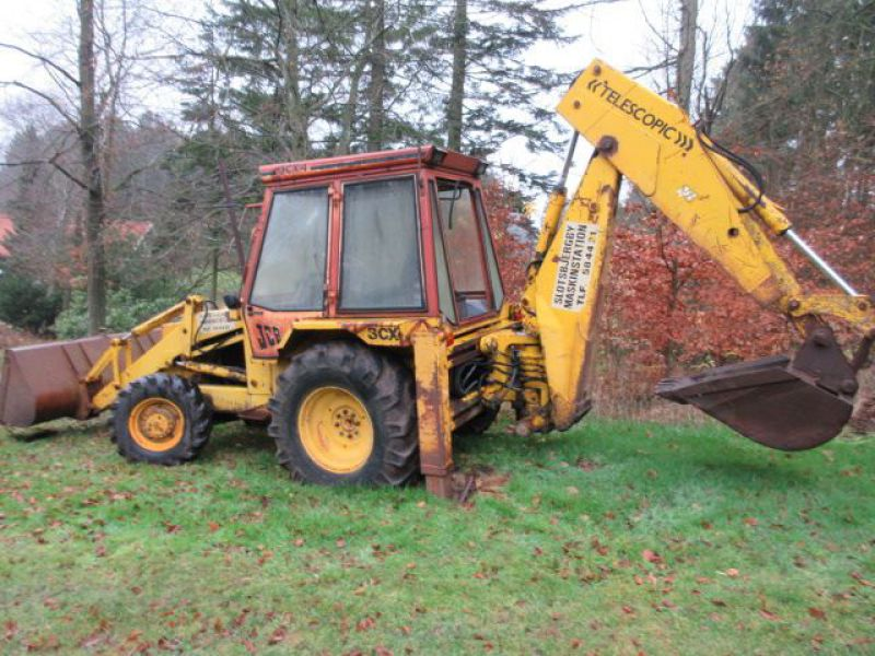 Rendegraver JCB 3 CX med 2 skovle / Backhoe with 2 buckets - 2
