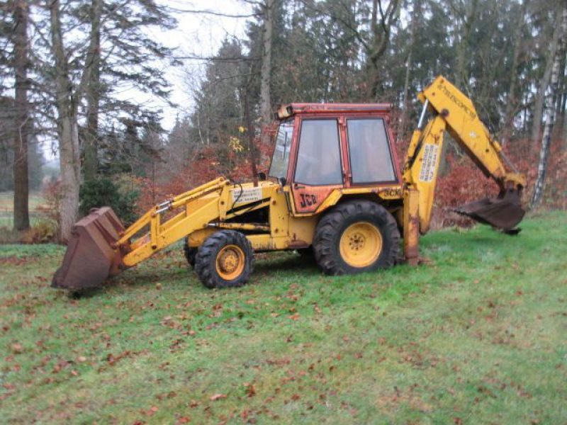 Rendegraver JCB 3 CX med 2 skovle / Backhoe with 2 buckets - 3