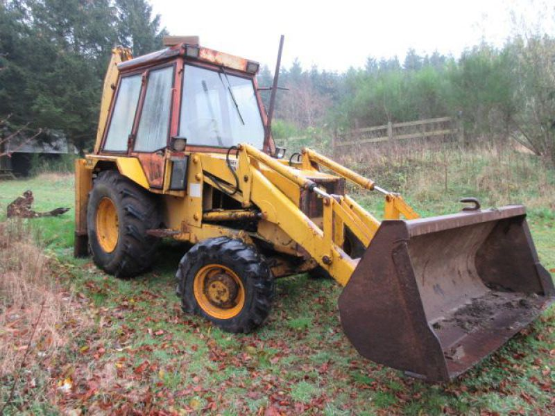 Rendegraver JCB 3 CX med 2 skovle / Backhoe with 2 buckets - 6