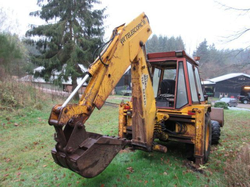 Rendegraver JCB 3 CX med 2 skovle / Backhoe with 2 buckets - 8
