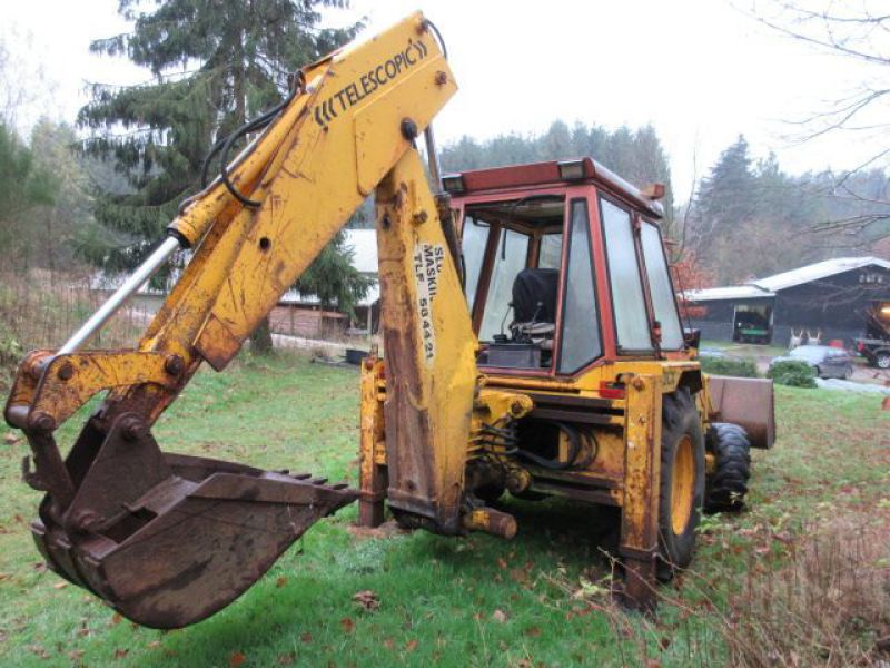 Rendegraver JCB 3 CX med 2 skovle / Backhoe with 2 buckets - 9