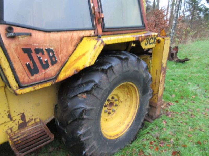 Rendegraver JCB 3 CX med 2 skovle / Backhoe with 2 buckets - 28
