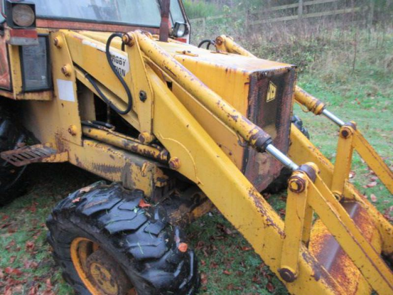 Rendegraver JCB 3 CX med 2 skovle / Backhoe with 2 buckets - 36