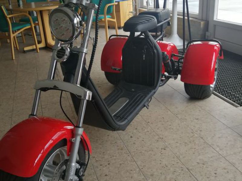 El- Scooter Off roader, brede hjul / with wide wheels - 2
