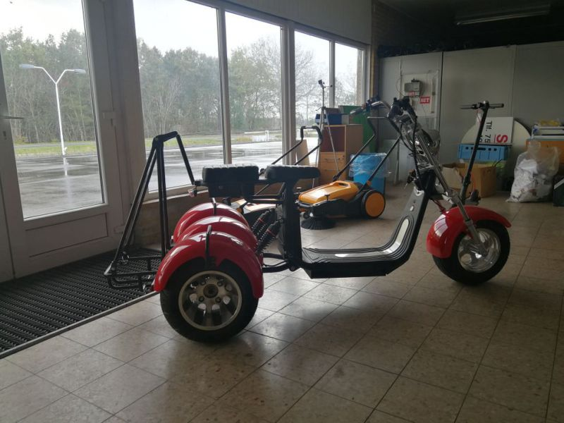 El- Scooter Off roader, brede hjul / with wide wheels - 9