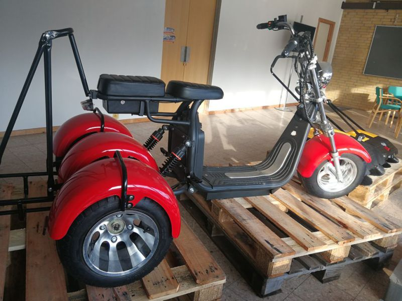 El- Scooter Off roader, brede hjul / with wide wheels - 13