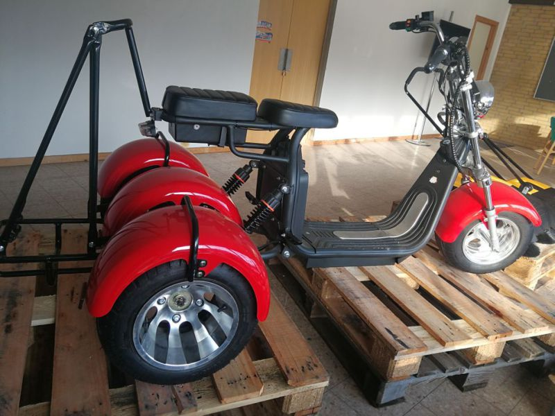 El- Scooter Off roader, brede hjul / with wide wheels - 14