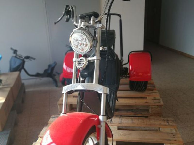 El- Scooter Off roader, brede hjul / with wide wheels - 17