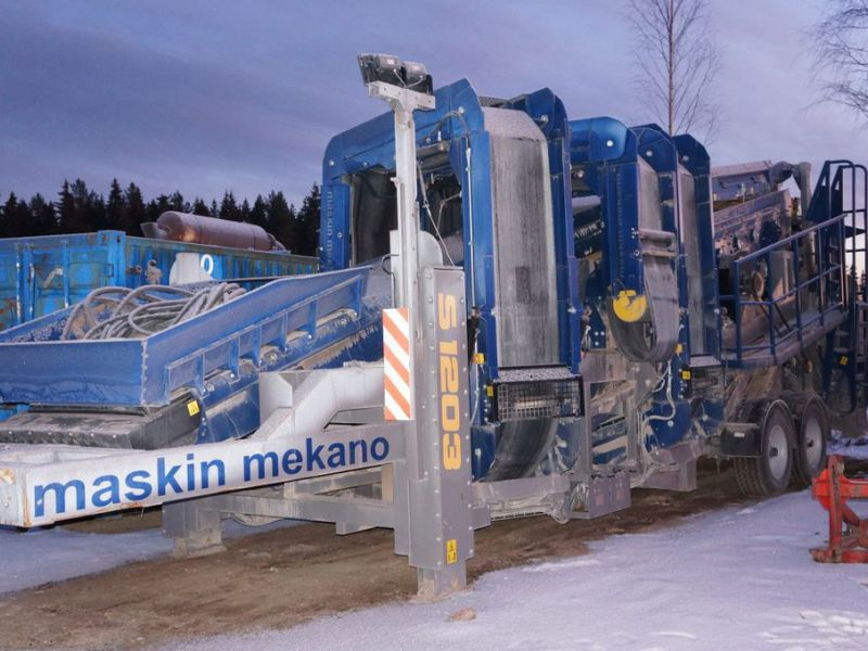 Maskin mekano S1203 3-deck screener 2017 - 0