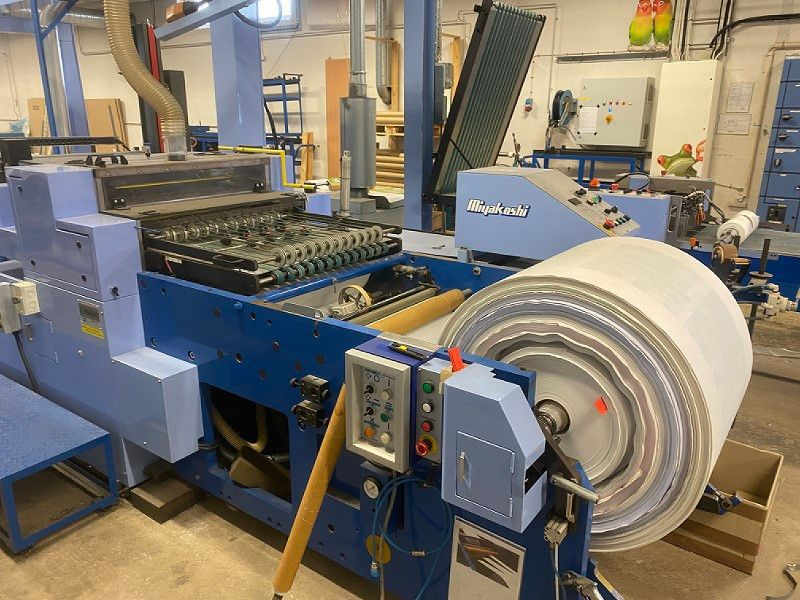 Miyakoshi Tryckpress / Printing press - 5