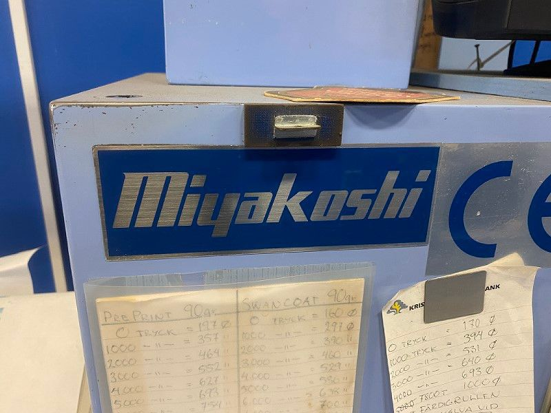 Miyakoshi Tryckpress / Printing press - 9