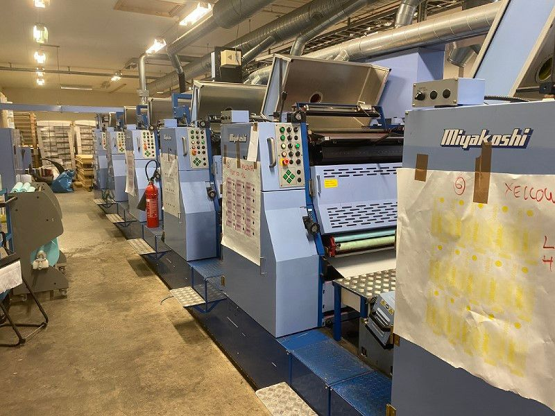 Miyakoshi Tryckpress / Printing press - 33