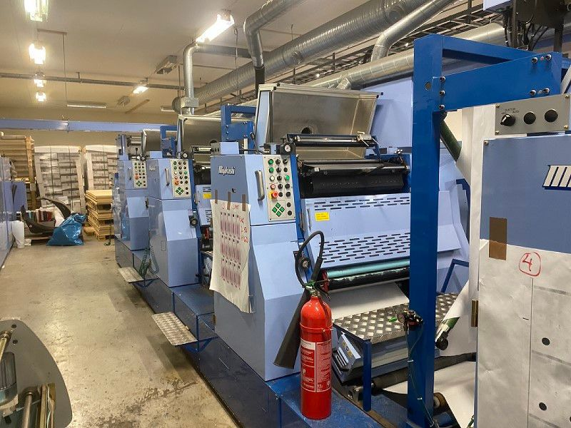 Miyakoshi Tryckpress / Printing press - 36