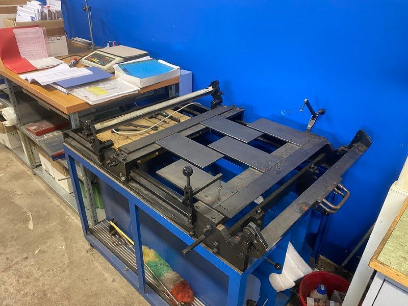 Miyakoshi Tryckpress / Printing press - 47
