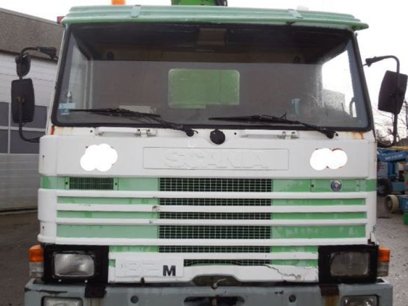 Scania P82m med 22 meter lift / Scania truck with lift - 3