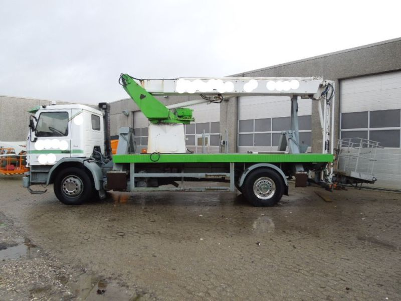 Scania P82m med 22 meter lift / Scania truck with lift - 5