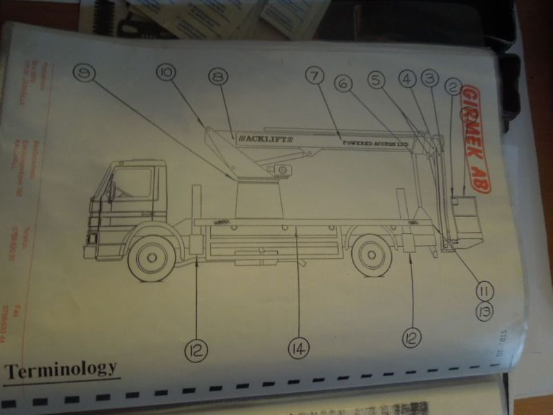 Scania P82m med 22 meter lift / Scania truck with lift - 32