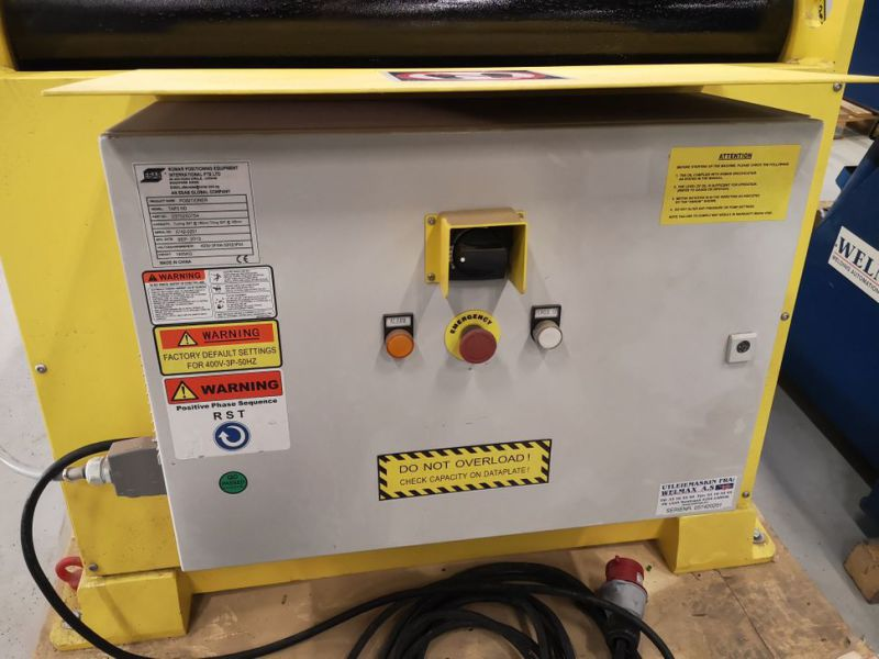 Welding Positioner, ESAB TAP3 HD - 4