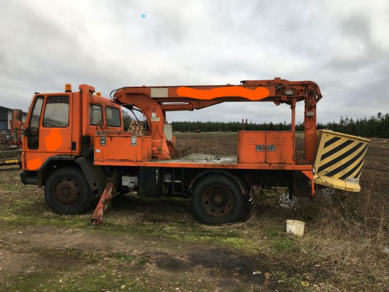 Ford Cargo Lastbil med lift / Ford Cargo truck with lift - 16