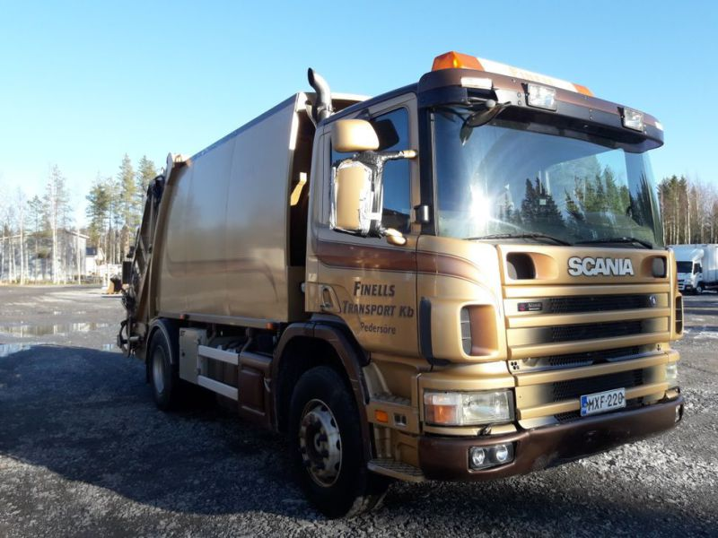 Scania P94 GB/390 sopbil - 0