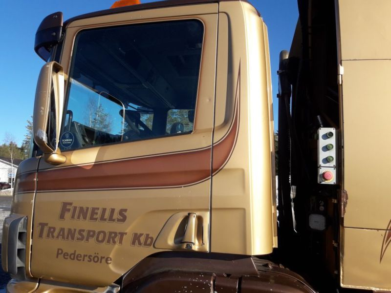 Scania P94 GB/390 sopbil - 19