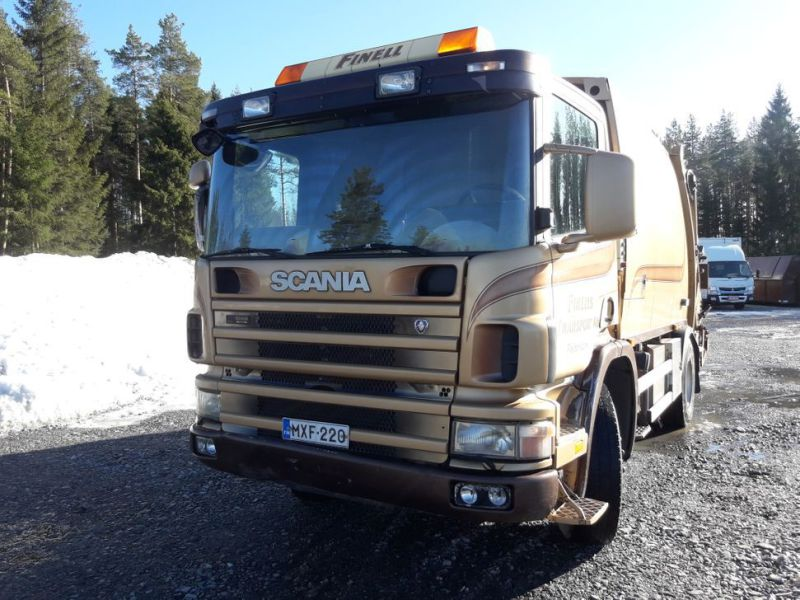 Scania P94 GB/390 sopbil - 36