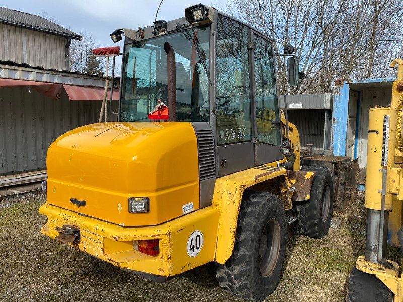 Hjullastare/Wheel loader Ahlmann AS90 - 4