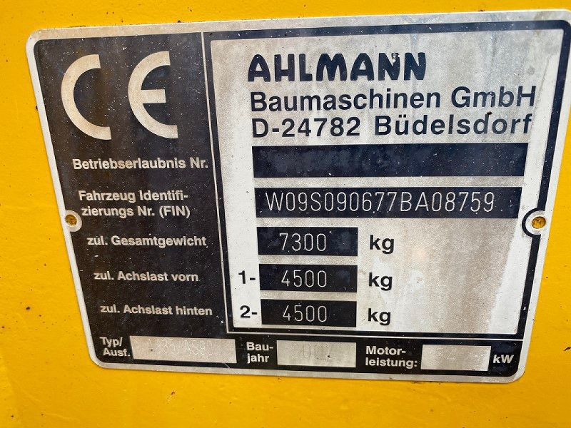 Hjullastare/Wheel loader Ahlmann AS90 - 7