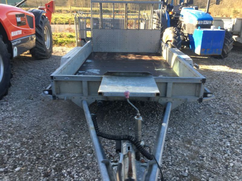 Ifor Williams KFG35  Maskin trailer / Machine trailer - 1
