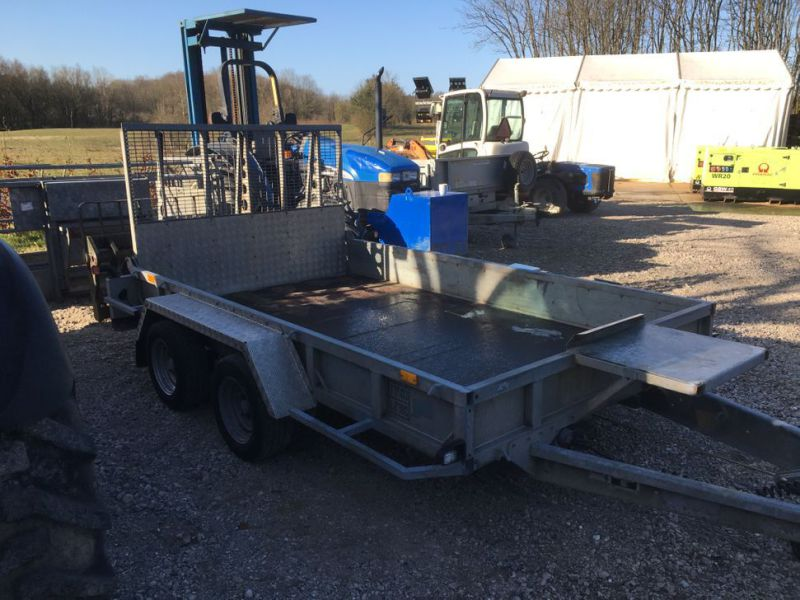 Ifor Williams KFG35  Maskin trailer / Machine trailer - 2