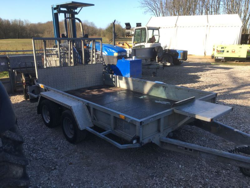 Ifor Williams KFG35  Maskin trailer / Machine trailer - 3