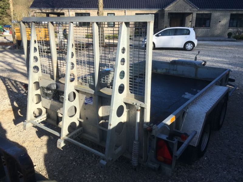 Ifor Williams KFG35  Maskin trailer / Machine trailer - 9