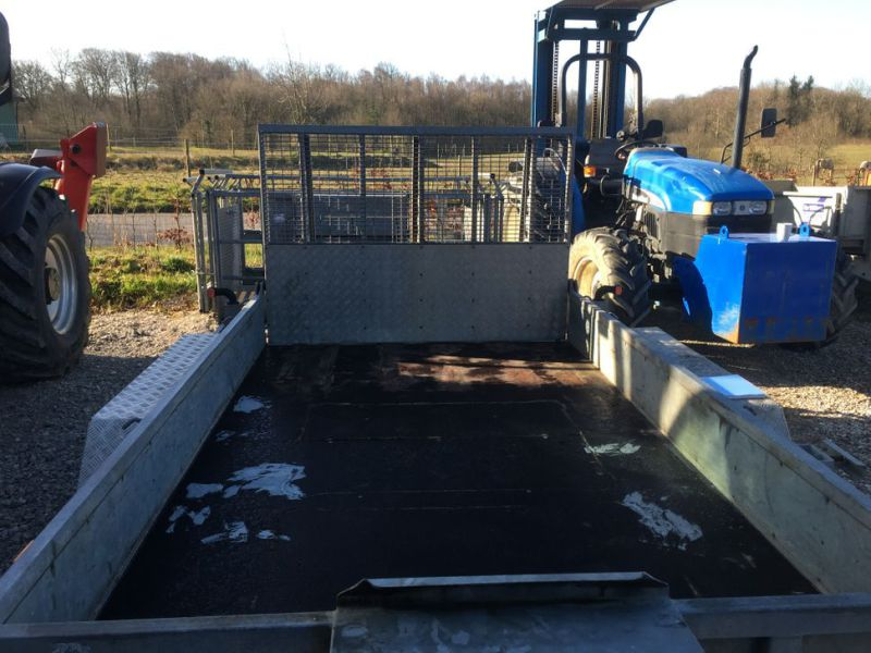 Ifor Williams KFG35  Maskin trailer / Machine trailer - 15