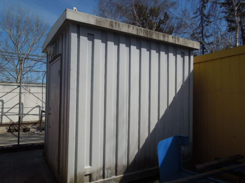 Isoleret Container med el skab / Container with electrical cabinet  - 1
