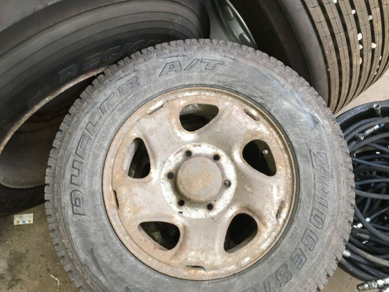 Dæk med fælge til toyota / Tires on rims for toyota - 4