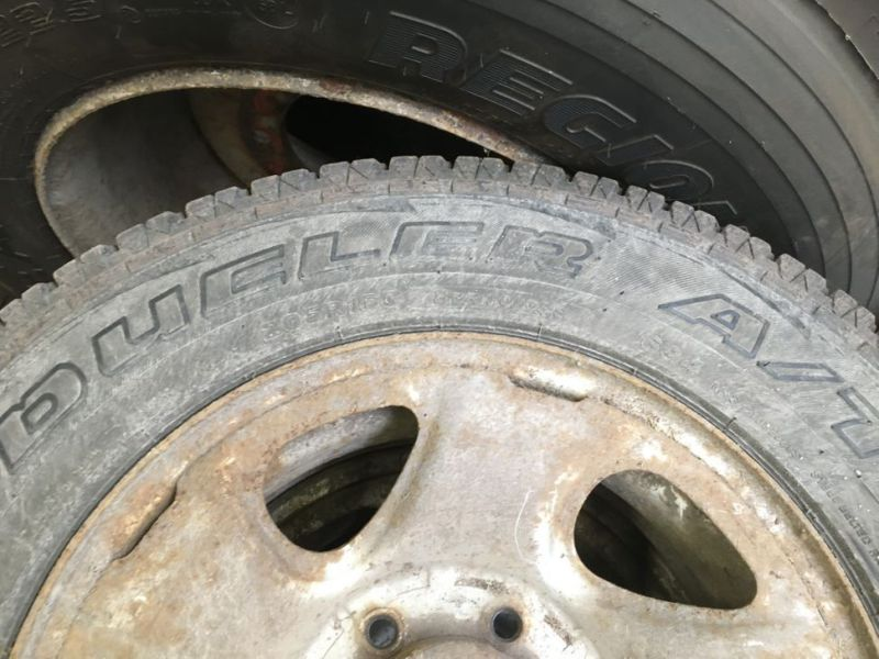 Dæk med fælge til toyota / Tires on rims for toyota - 5