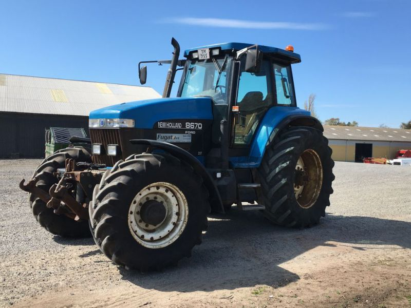 New Holland 8670 4 WD Traktor / Tractor - 0