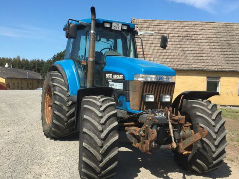 New Holland 8670 4 WD Traktor / Tractor - 20
