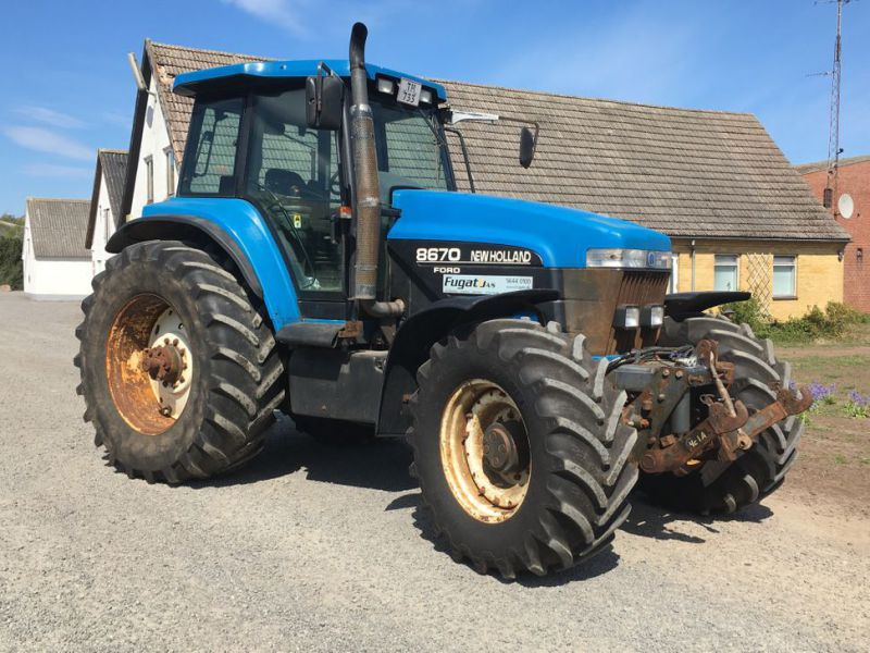 New Holland 8670 4 WD Traktor / Tractor - 21