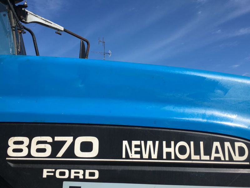 New Holland 8670 4 WD Traktor / Tractor - 22