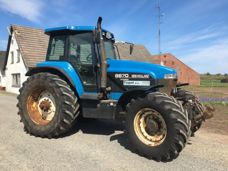 New Holland 8670 4 WD Traktor / Tractor - 23