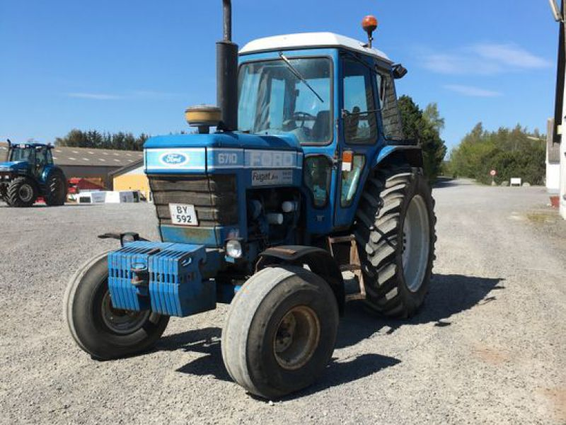 Traktor Ford 6710 / Tractor Ford 6710 - 0