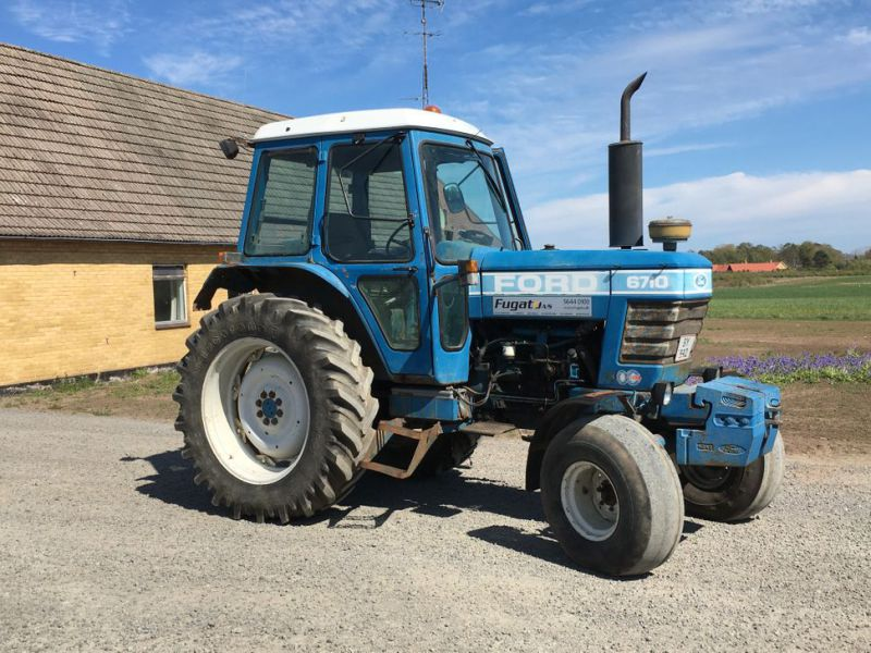 Traktor Ford 6710 / Tractor Ford 6710 - 1