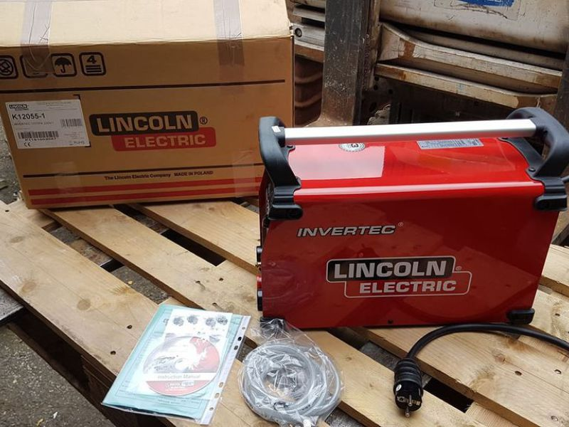 Lincoln Invertec 170 TPX TIG m/puls - 0