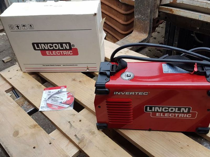 Lincoln Invertec 160SX MMA/Pinneapparat - 0