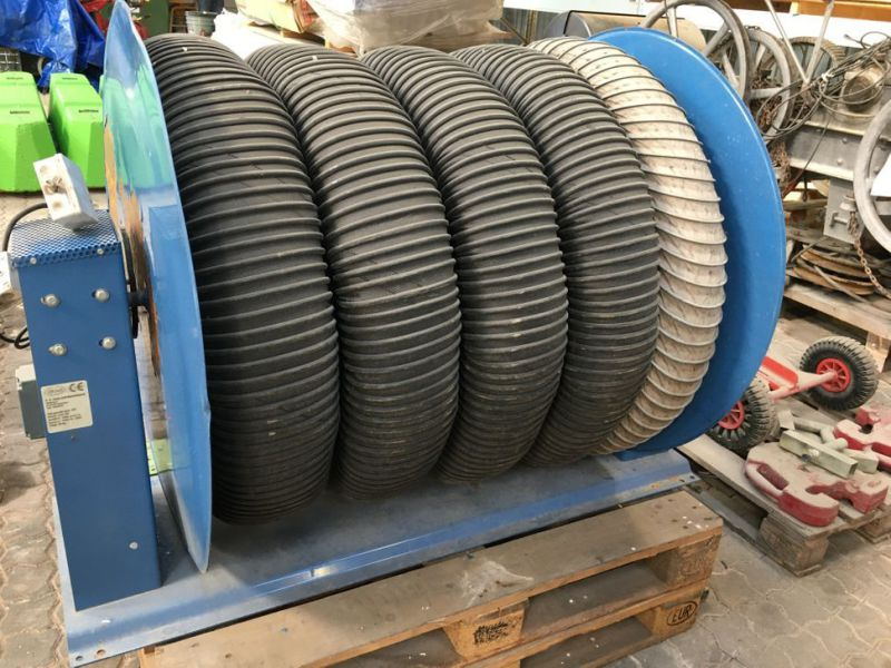 Slange rulle for udsugning / Exhaust-hose with rolling-up device - 3