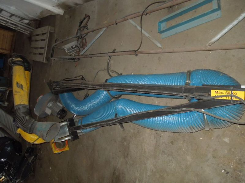 Udsugnings arm 6 meter med Motor / Suction arm with engine - 4