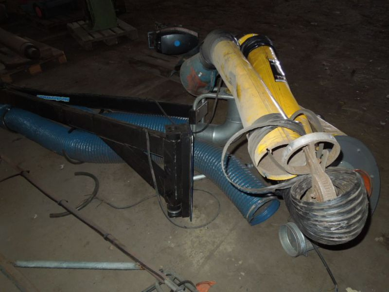 Udsugnings arm 6 meter med Motor / Suction arm with engine - 6